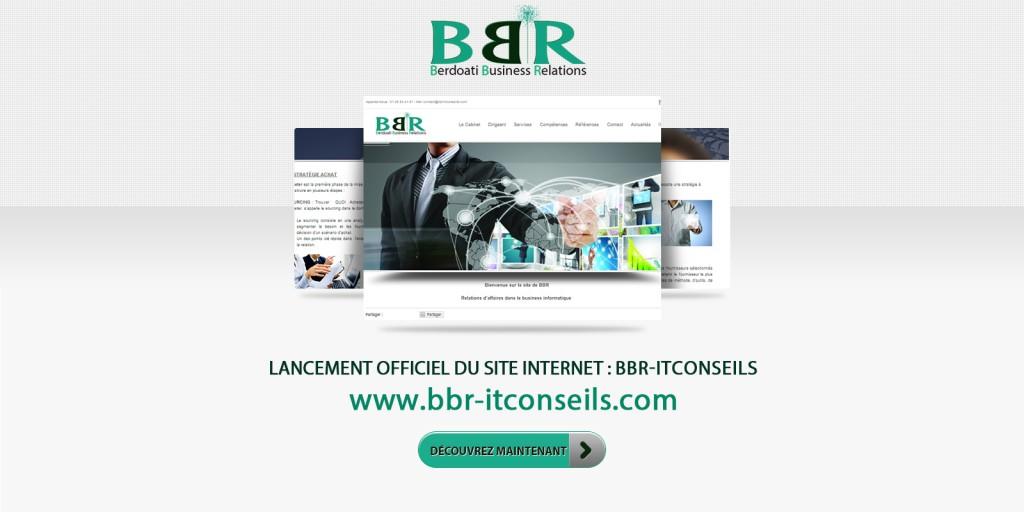 Lancement officiel du site BBR